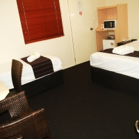 Executive Rooms with interconnecting room options